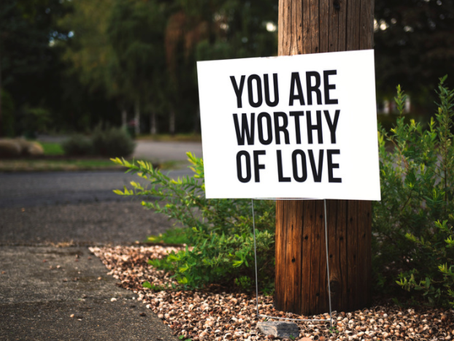 Self-worth. It's Intangible.