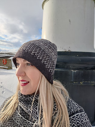 Beanie Hat in Nord Pattern