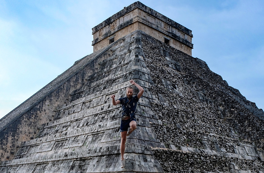 Chichen-Itza-pyrmaid-mexico