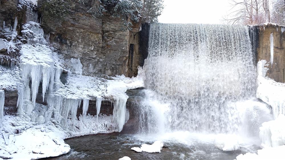 Indian-Falls-Waterfall-Owen-Sound