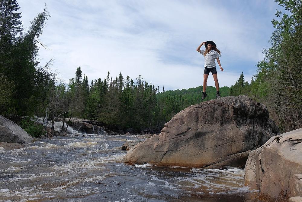 Silver-falls-hike-thunder-bay-ontario