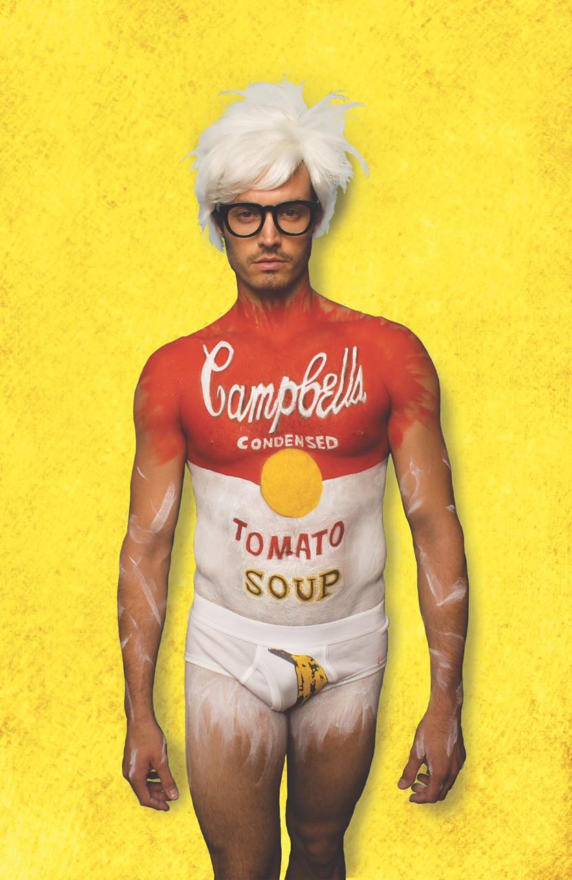 Andy-Warhol-body-paint-makeup
