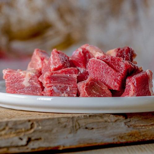 Rindermuskelfleisch durchwachsen 1000g  ---  NUR ABHOLUNG