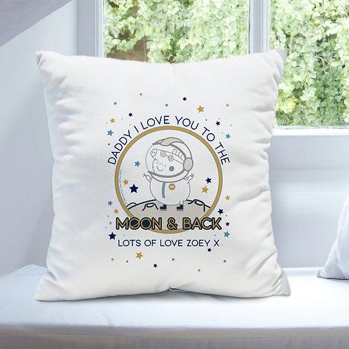 Peppa Pig™ Daddy Moon & Back Cushion