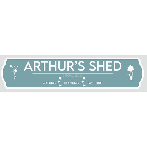 Shed Sign - Personalised