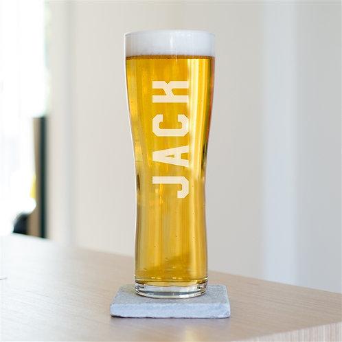 Name Beer Glass