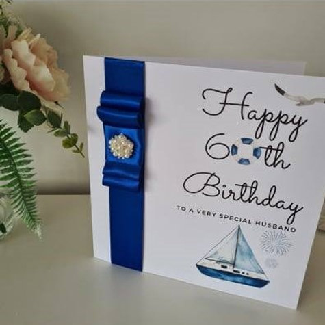 Handmade Husband Birthday Card
