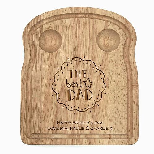 Personalised Dad Egg Board