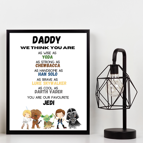 Star Wars Daddy Picture