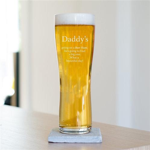 Beer Hunt Pint Glass