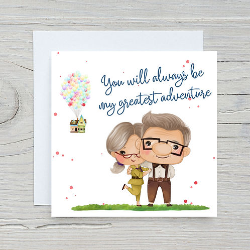 Up Inspired Anniversary Card