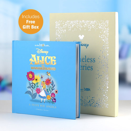 Personalised Disney Alice In Wonderland Story Book