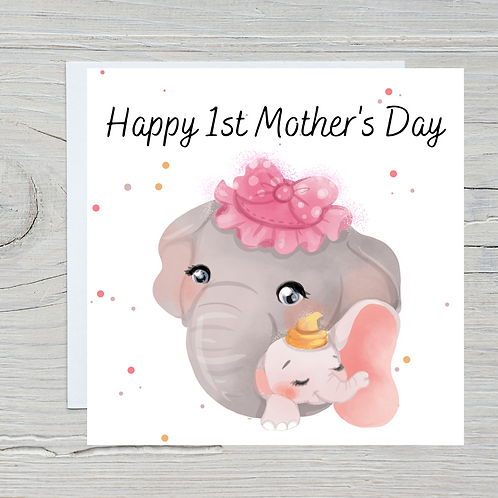 Mother's Day Card -Dumbo