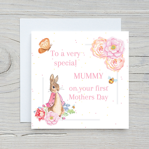 Mother's Day Card -First Mother's Day