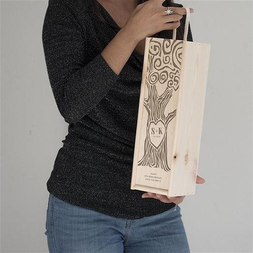 Heart Tree Wine Box