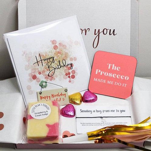 Birthday Letter Box Gift