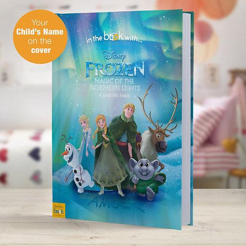 Personalised Disney Frozen Northern Lights StoryBook