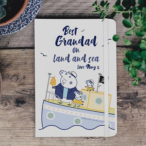 Peppa Pig™ Best Grandad A5 Notebook