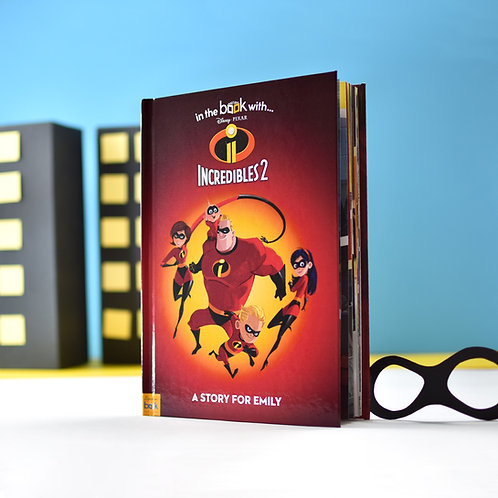 Personalised Disney Incredibles 2 Story Book