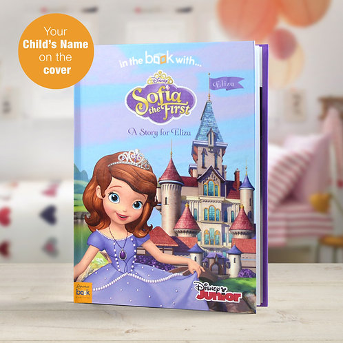 Personalised Disney Jr Sofia the First StoryBook