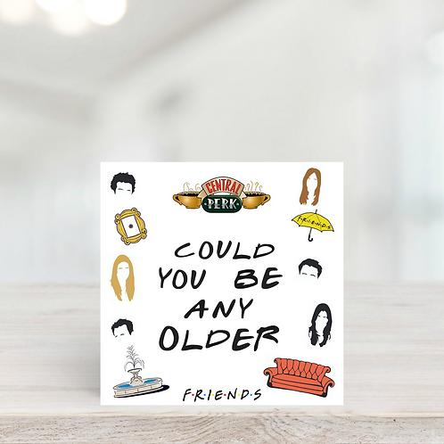 Friends Birthday Card