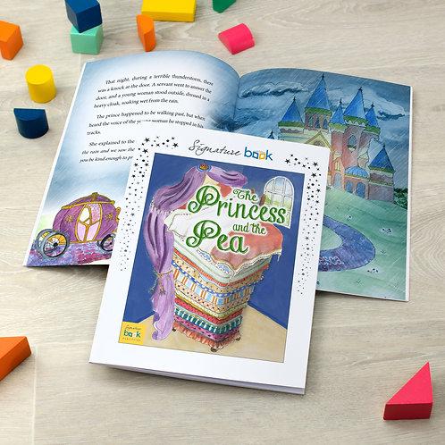 Personalised Princess and Pea Book