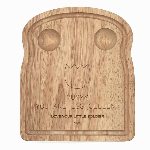 Personalised Mummy Egg-cellent Egg Board