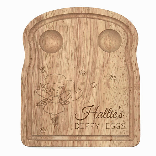 Personalised Fairy Egg Board