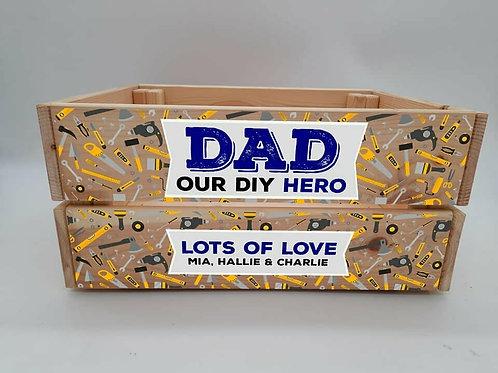 Personalised Our DIY Hero Crate