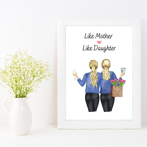 Personalised Mother's Day Print