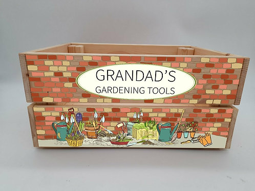 Personalised- Gardening Crate