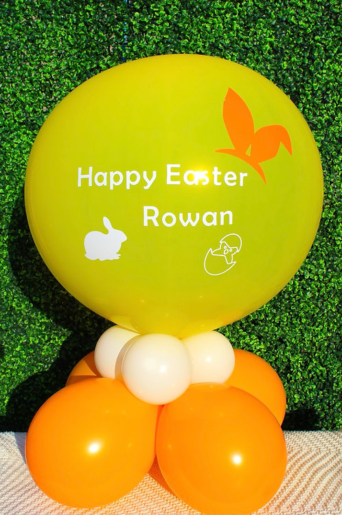 Personalised Easter Pop Balloon