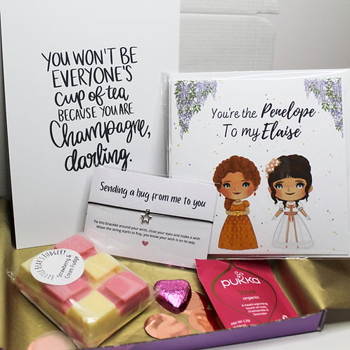 Friendship Bridgerton Themed Letterbox Gift