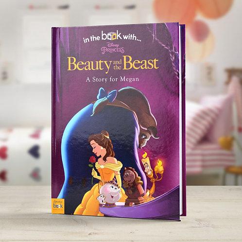 Personalised Disney Beauty & the Beast StoryBook