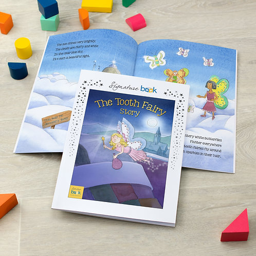 Personalised Tooth Fairy Story - Signature Favourite
