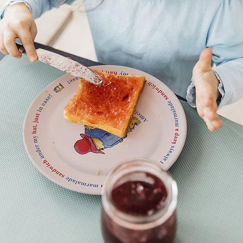 Paddington Bear Marmalade Sandwich 8″ Rimmed Plate