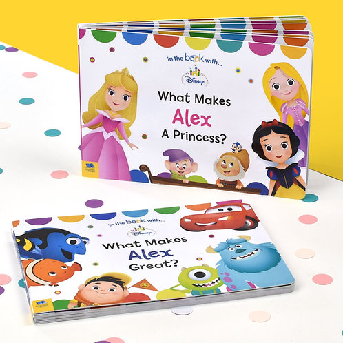 Personalised Dual Box-Set Disney Board Books