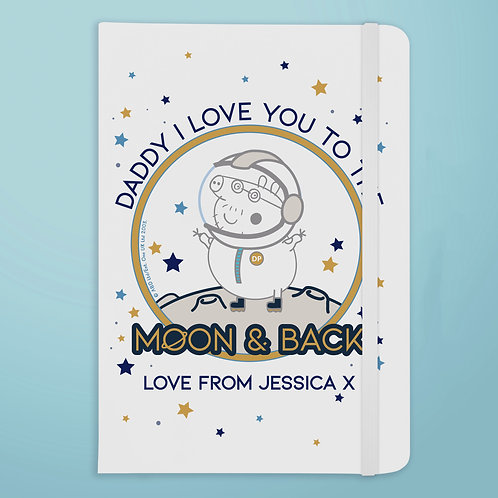 Peppa Pig™ Daddy Moon & Back A5 Notebook