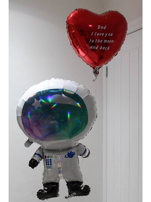 Father's Day Astronaut Balloon