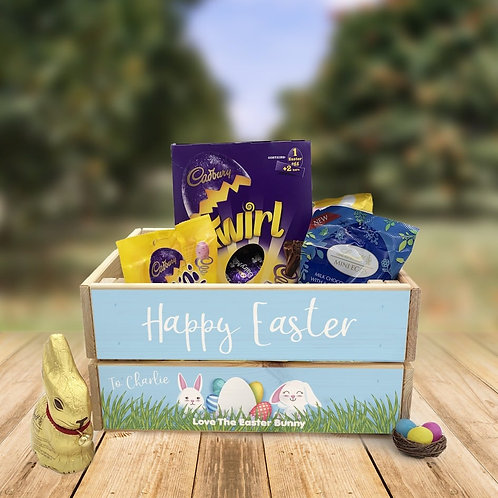 Personalised Easter Crate