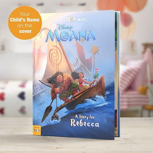 Personalised Disney Moana StoryBook
