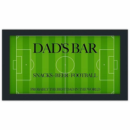Personalised Dads Bar Runner