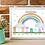 Thumbnail: Rainbow Family Welly Boot Picture-Personalised