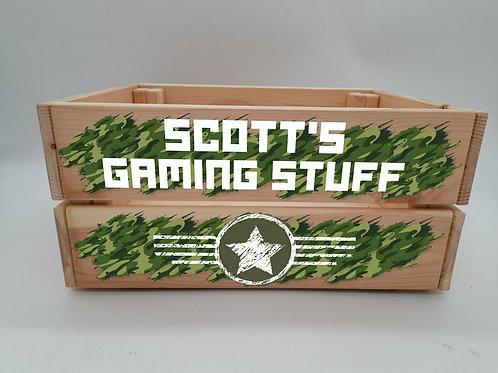 Personalised Gaming Crate