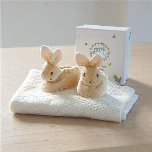 Peter Rabbit Baby Booties