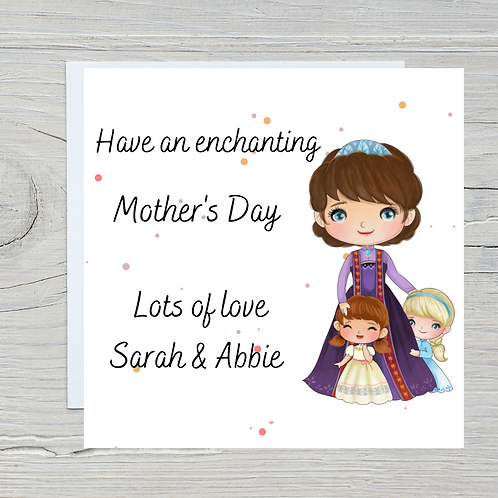 Mother's Day Card -Frozen