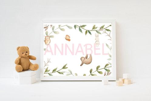 Baby Nursery Print