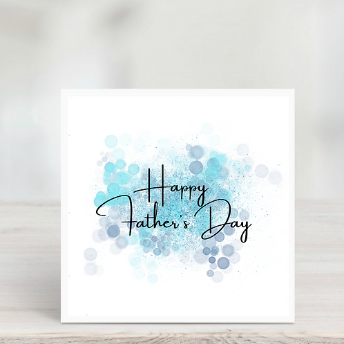 Father's Day Card-Blue