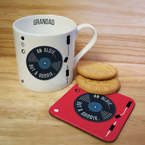 HotchPotch Oldie But A Goodie Mug & Coaster
