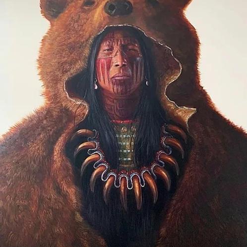 Blood Hand Bear (Hand Signed)